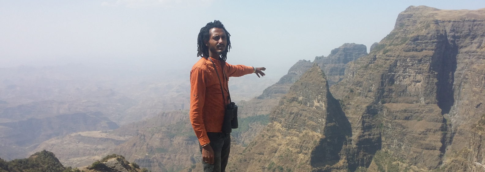 View_point at simien _mountains national park