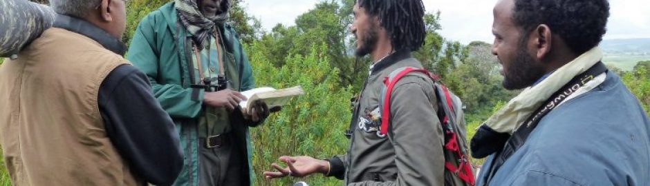 Explanation_before_birding_tour_in_Ethiopia