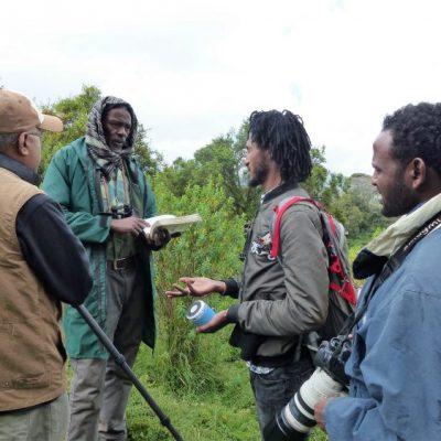 Explanation_before_birding_tour_in_Ethiopia